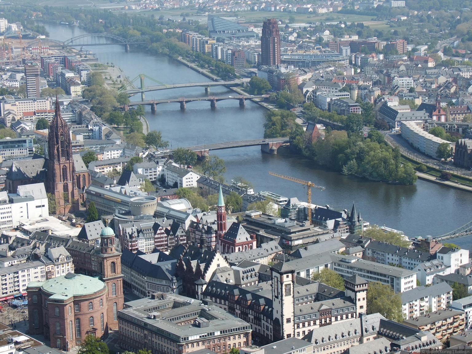 Франкфурт на майне  города