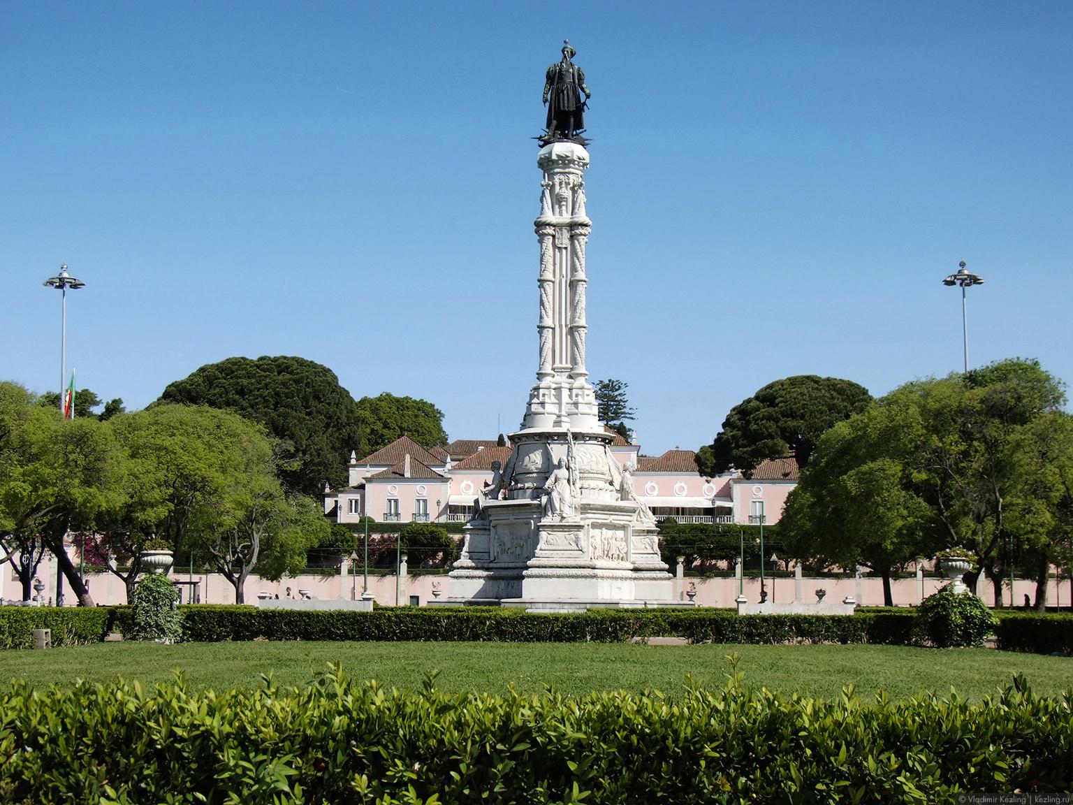 Памятник Альфонсо Альбукерке