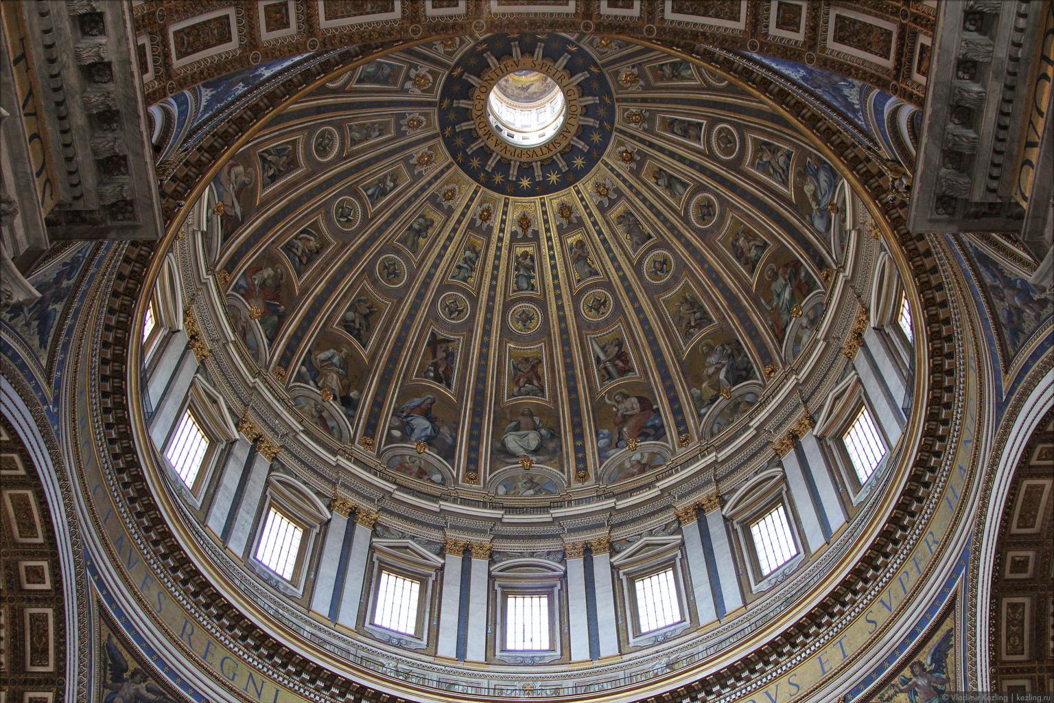 Собор Святого Петра / Итальянские каникулы / Владимир Кезлинг