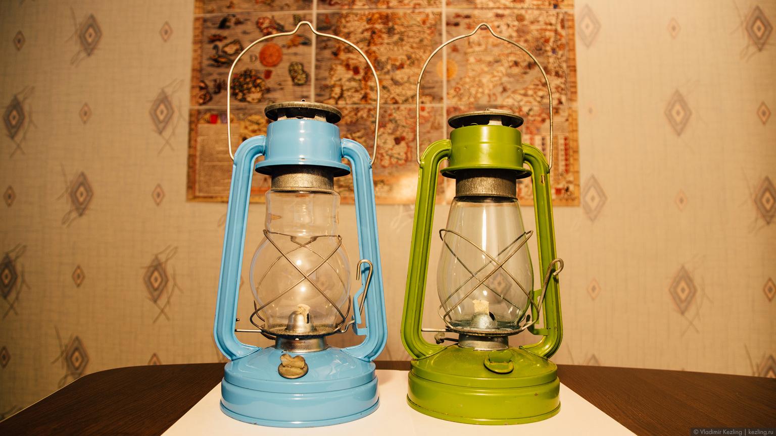 Советские керосиновые лампы или Тёплый свет вдали от дома