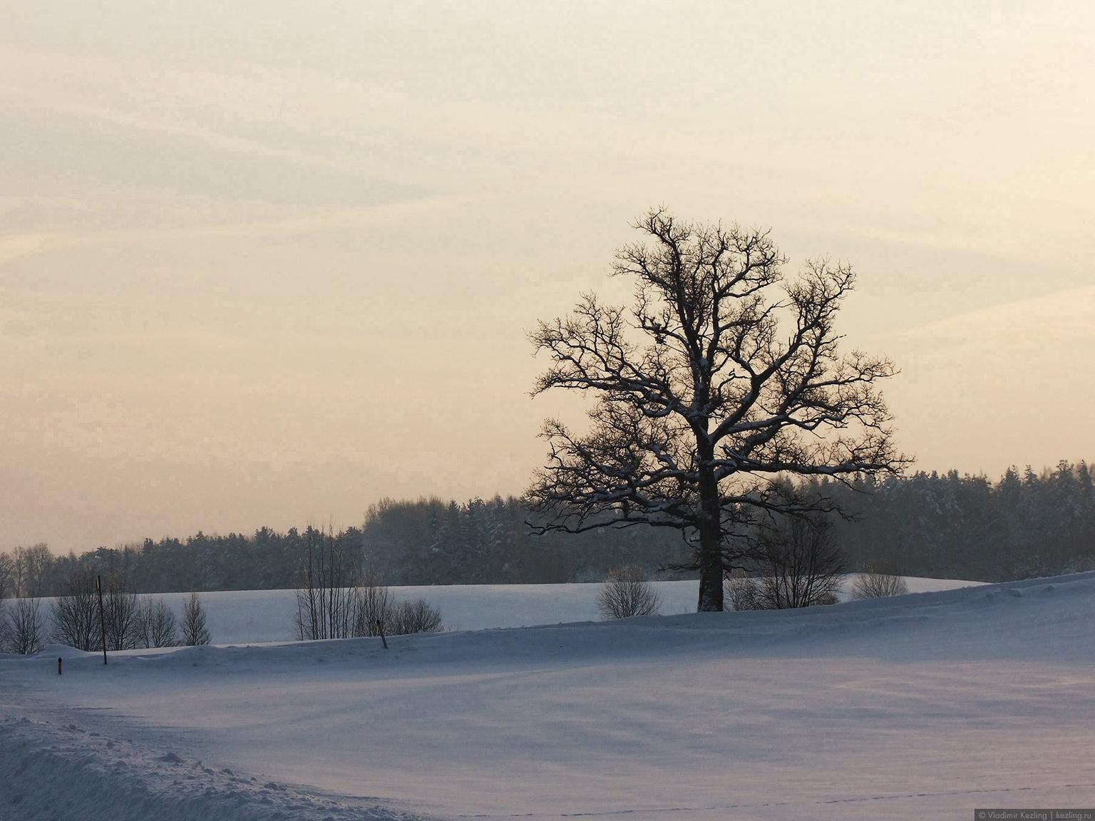 Зимняя Латвия. Вводный пост