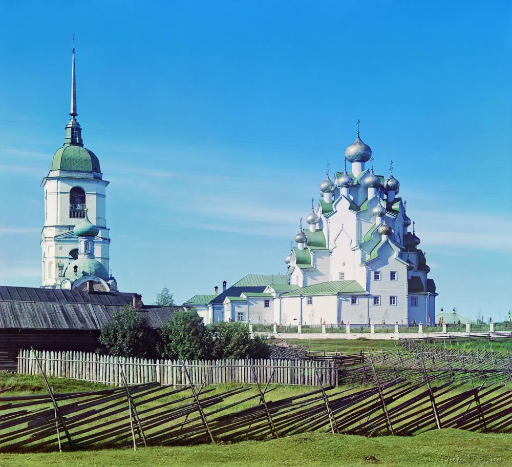 Вытегорский погост. Фото С. М.Прокудина-Горского