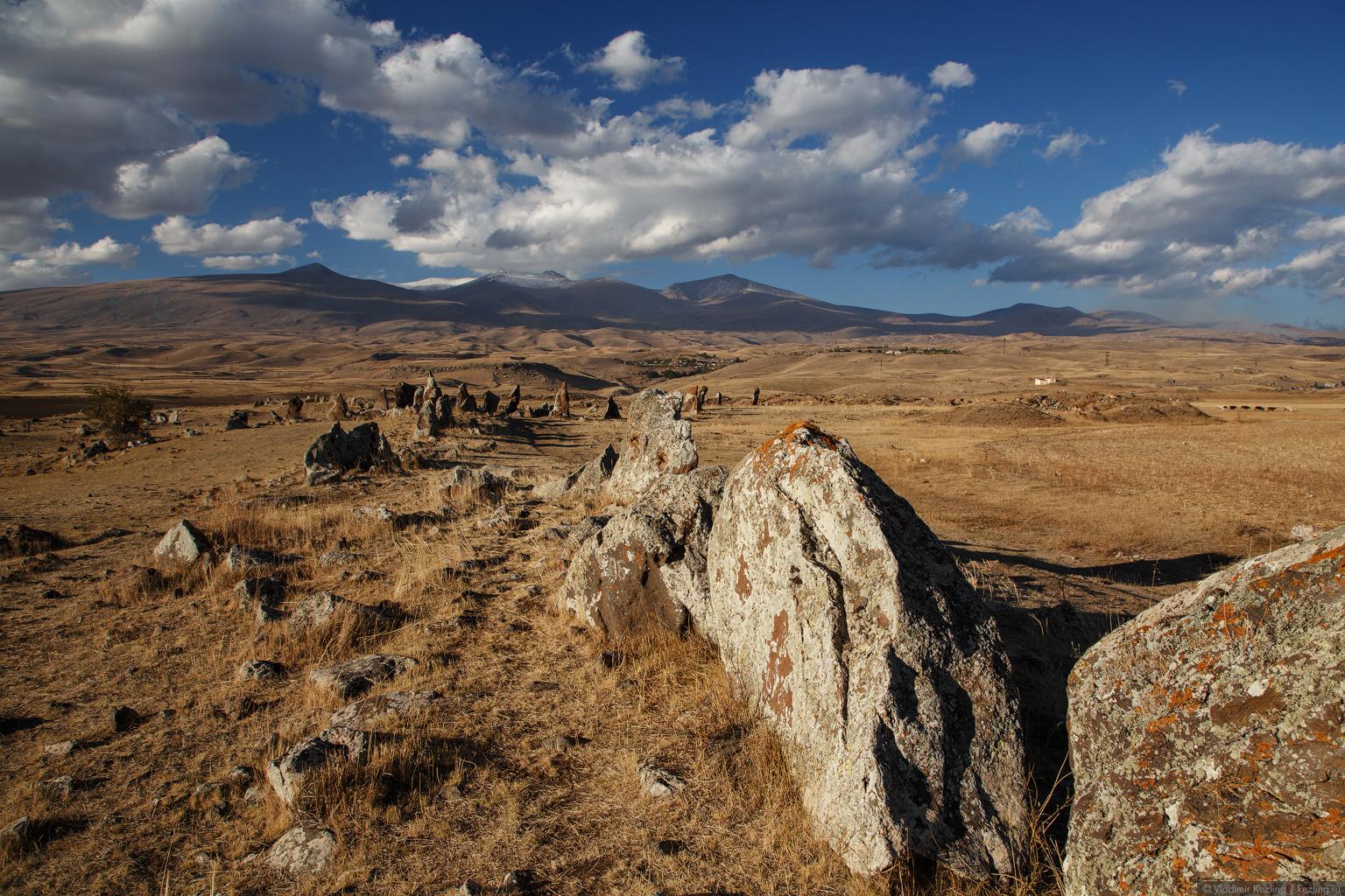Закавказская осень. Армения. Южные земли