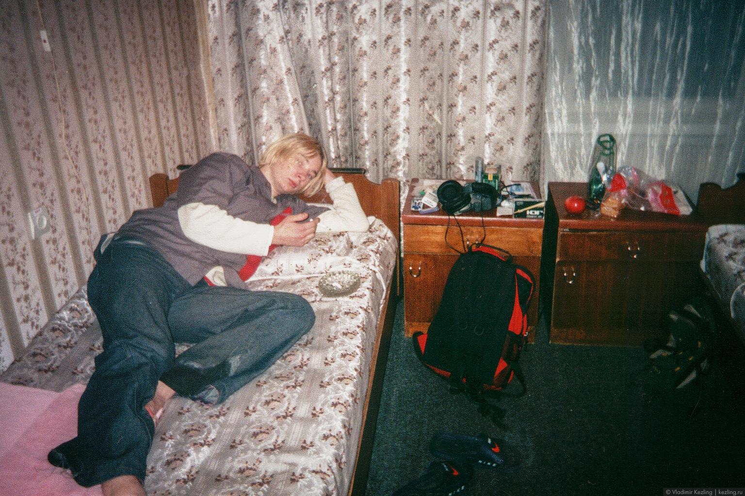 Первая самостоятельная поездка в Москву: несколько месяцев спустя на одном из столичных лейблов выйдет альбом группы «Северный ветер». Москва, Россия, 2004