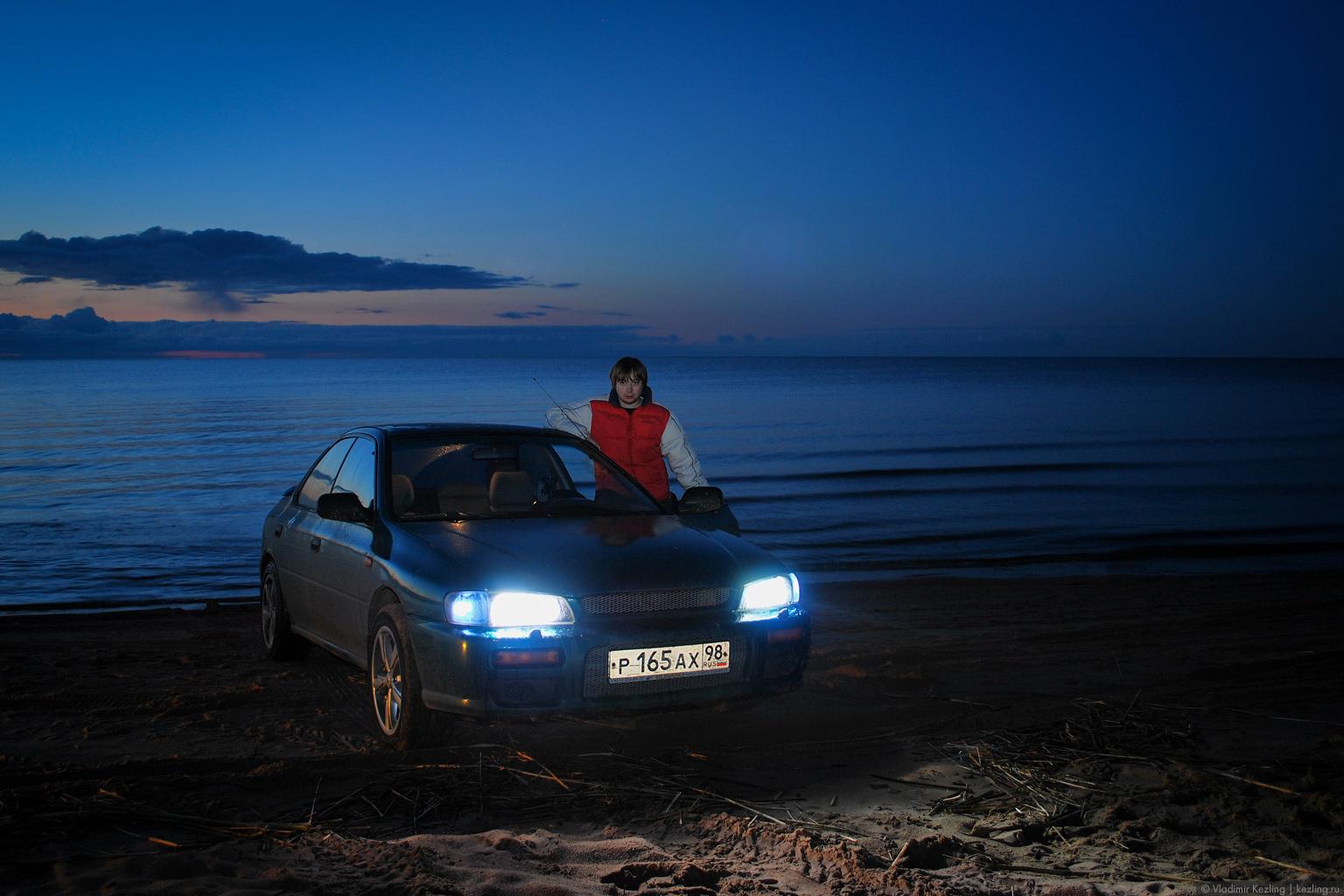 Моя первая машина — Subaru Impreza. Коккорево, Россия, 2008