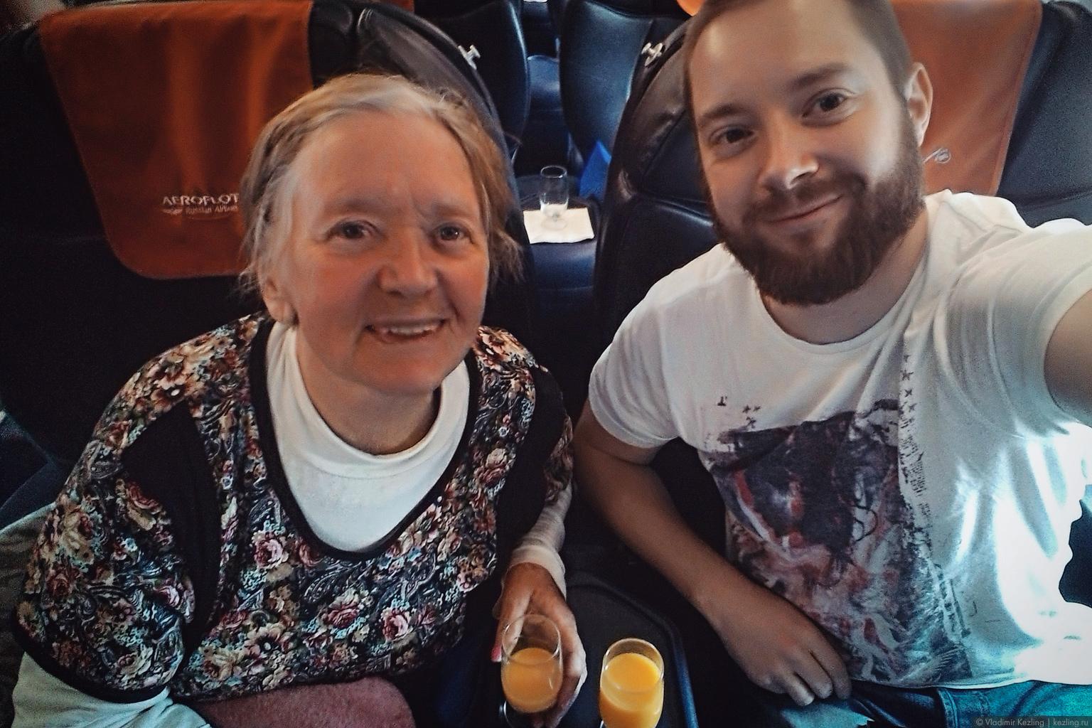 На Байкал с бабушкой