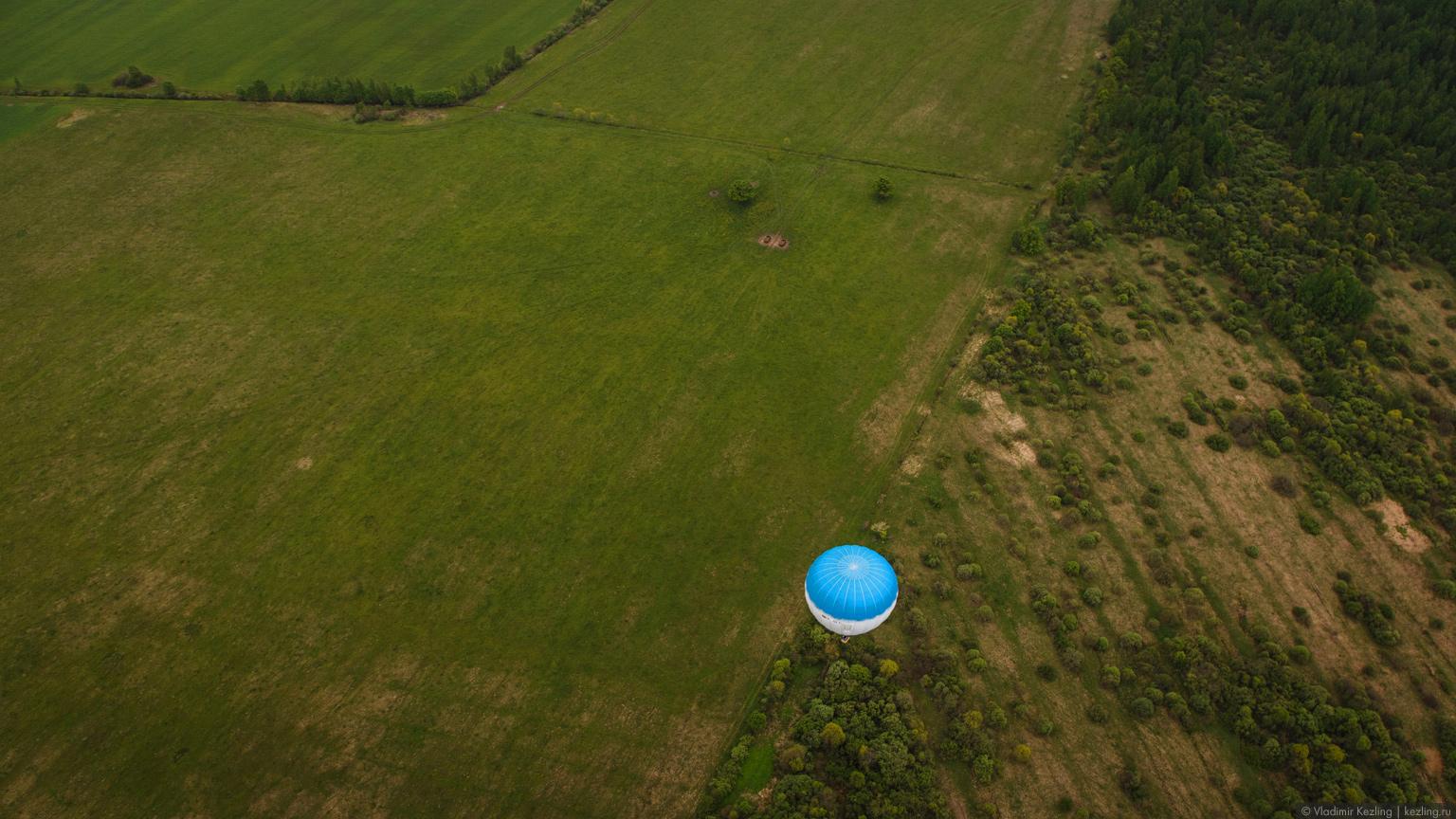 Фестиваль воздушных шаров в Старой Руссе