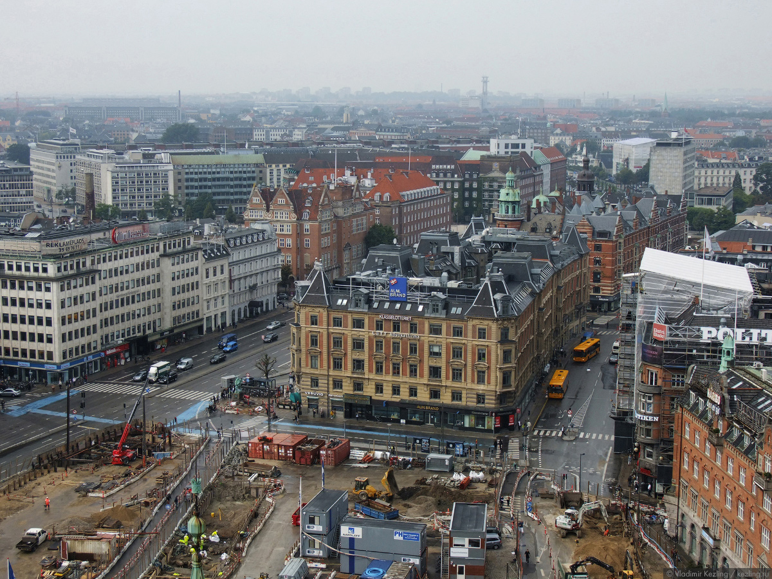 Трансбалтийский вояж. Копенгаген. Взгляд сверху