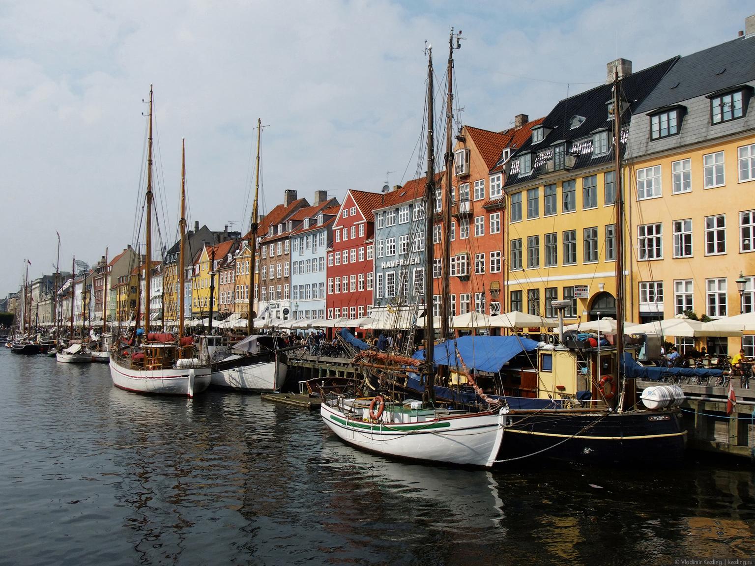 Балтийские берега. Копенгаген. Улицы