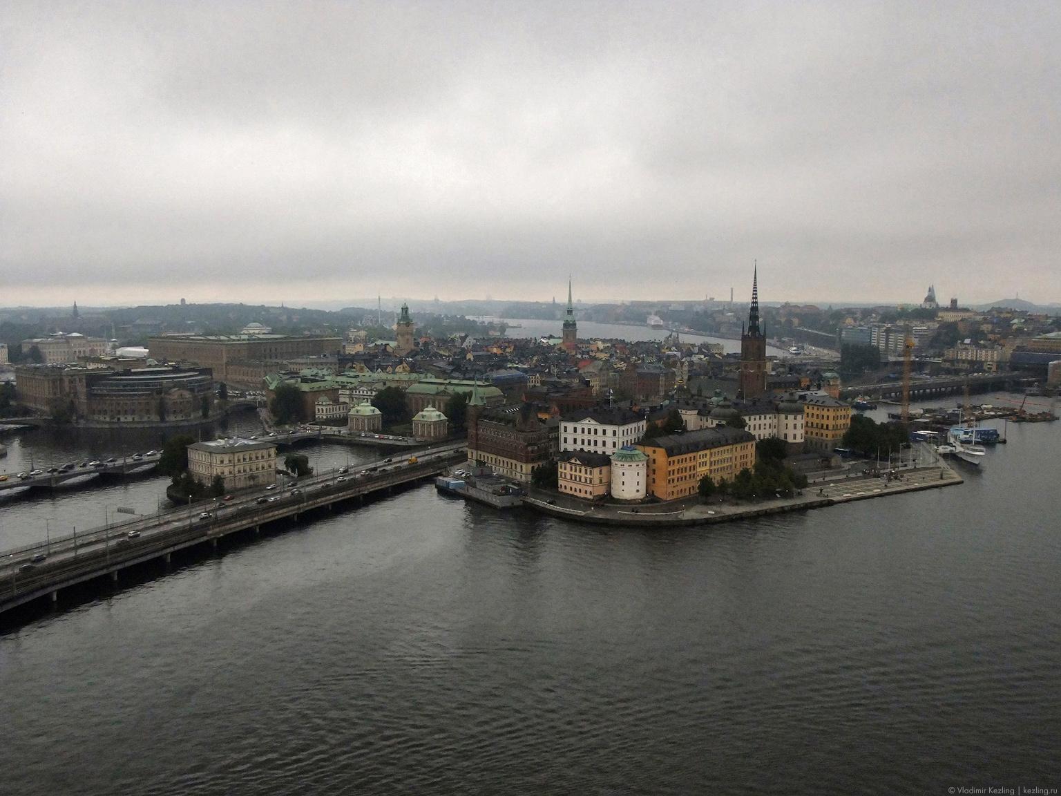 Трансбалтийский вояж. Стокгольм. Взгляд сверху