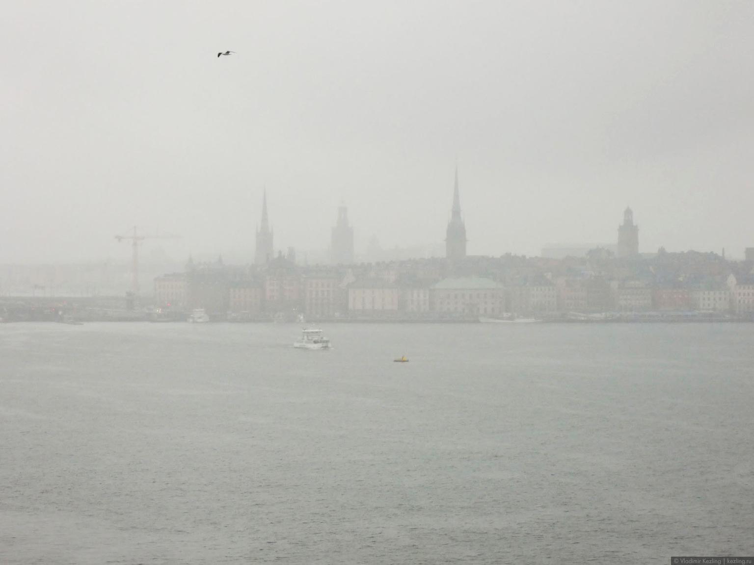 Трансбалтийский вояж. Стокгольм. Взгляд с воды