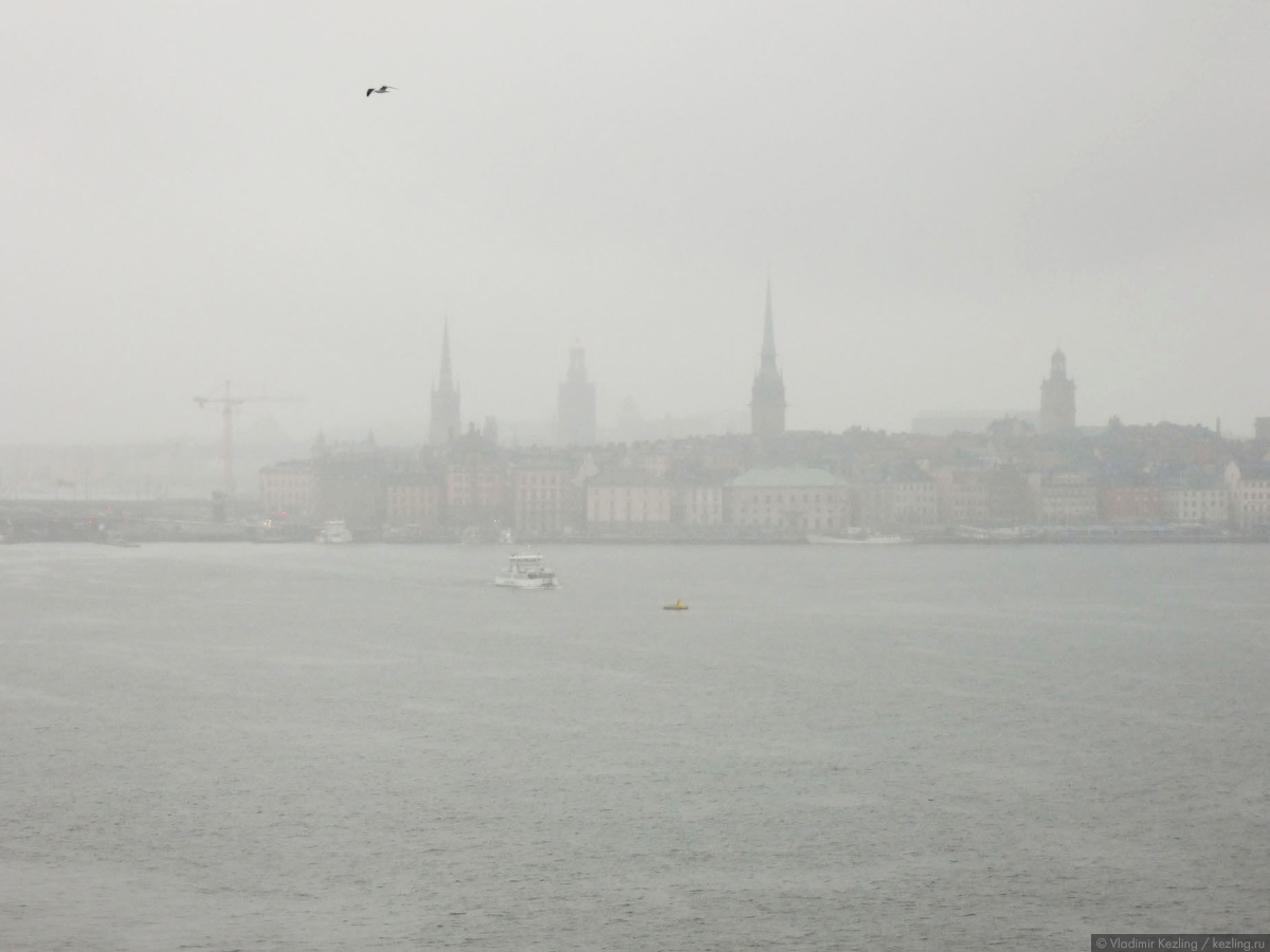 Балтийские берега. Стокгольм. Взгляды с воды
