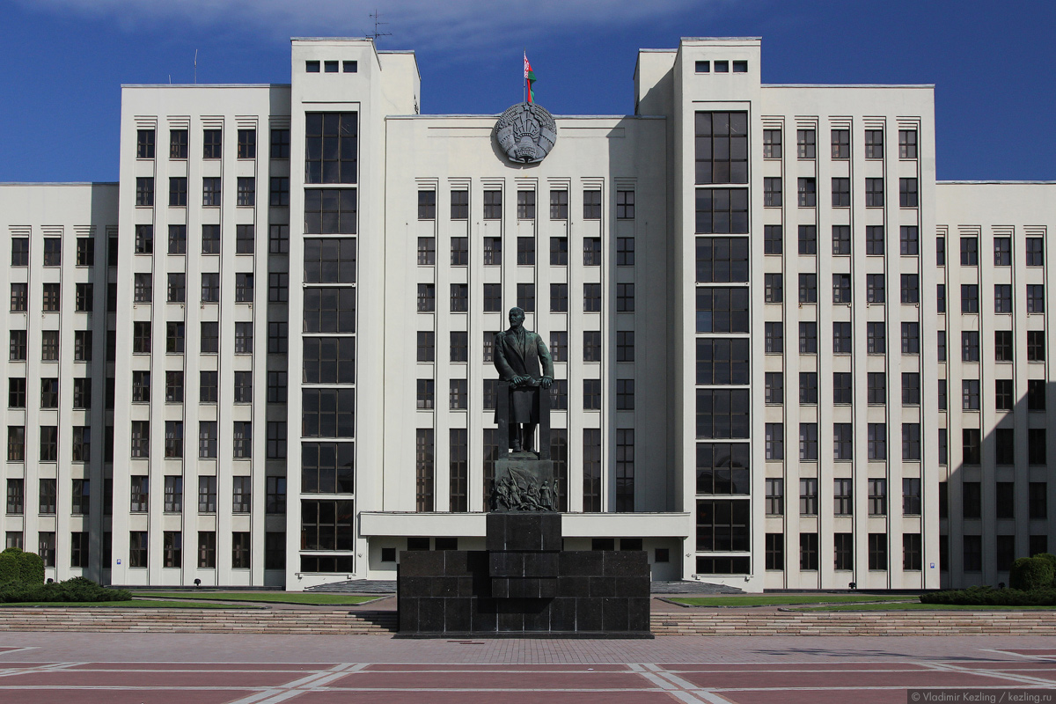 Белая Русь. Минск