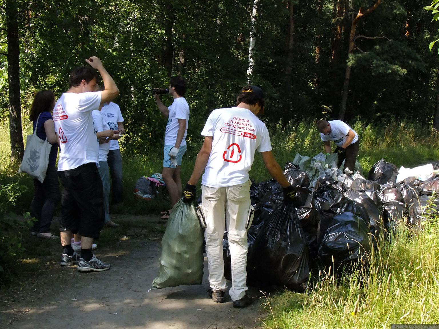 Блоггер против мусора
