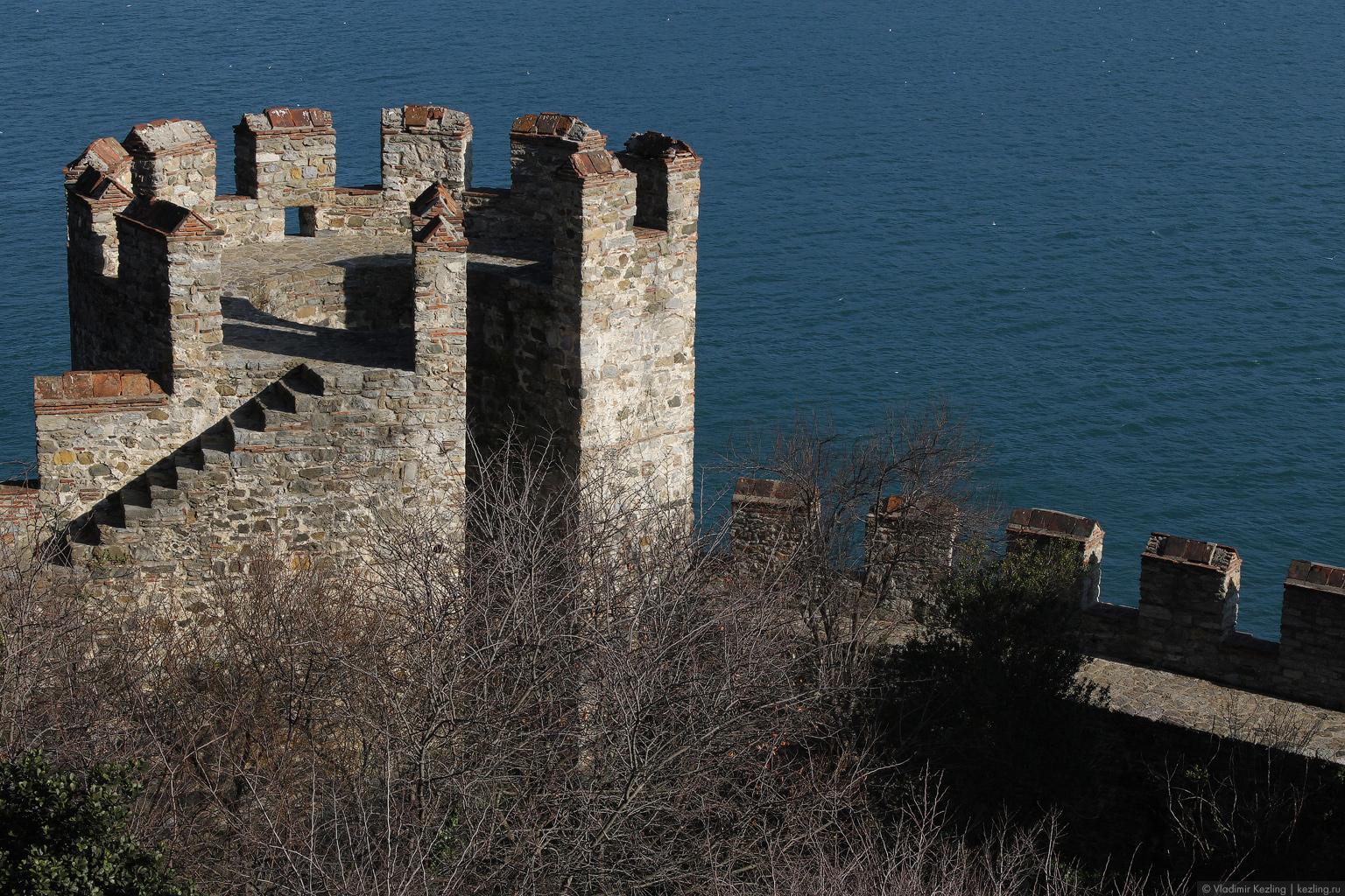 Босфор. Две крепости: Анадолу Хисары и Румели Хисары