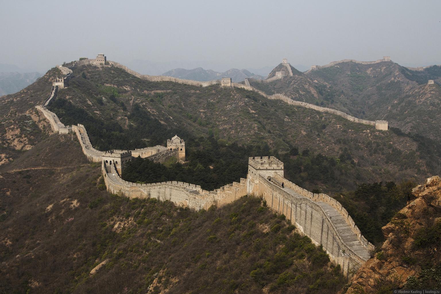 Китай. Великая стена: Цзиньшаньлин