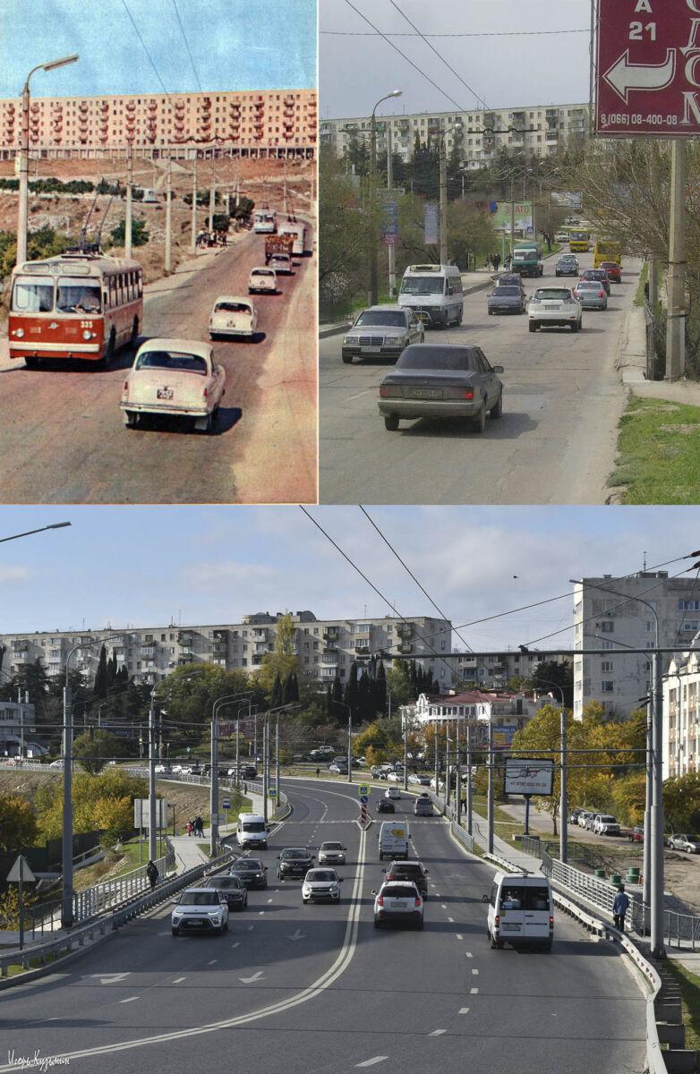 Три эпохи- СССР, украдина, Россия (Карантинная балка)
