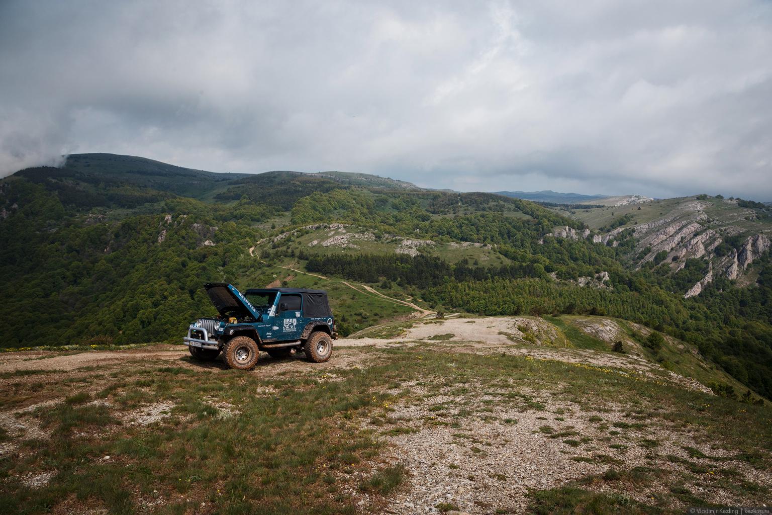 Крым переходного периода. Демерджи — гора-кузнец
