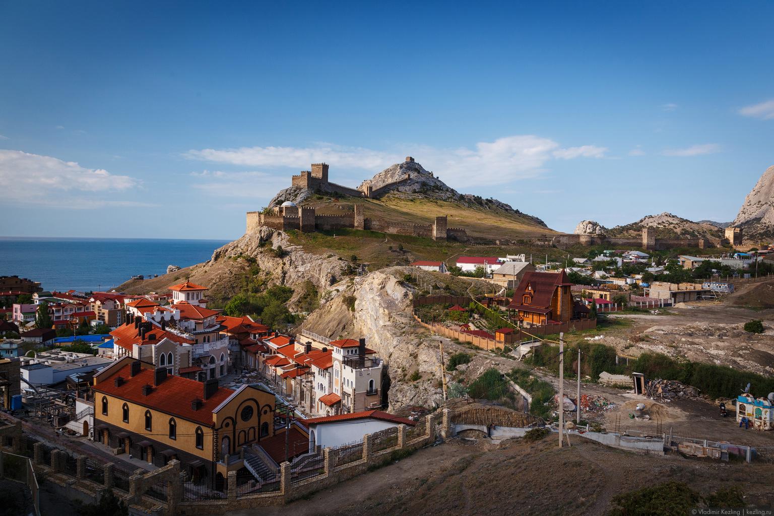 Крым — 2014. Солдайя — генуэзская крепость в Судаке