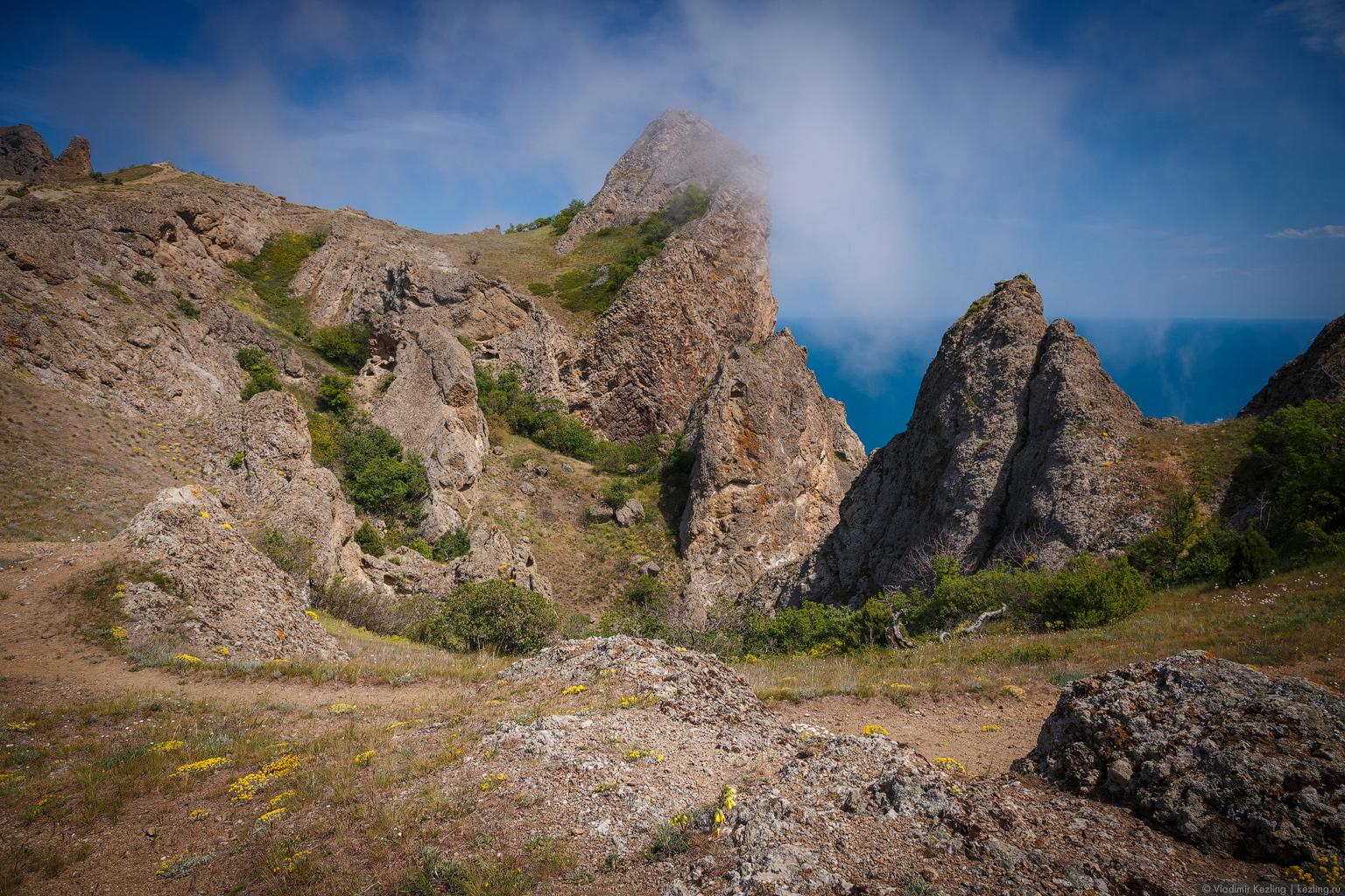 Крым переходного периода. Кара-Даг — самое красивое место Крыма