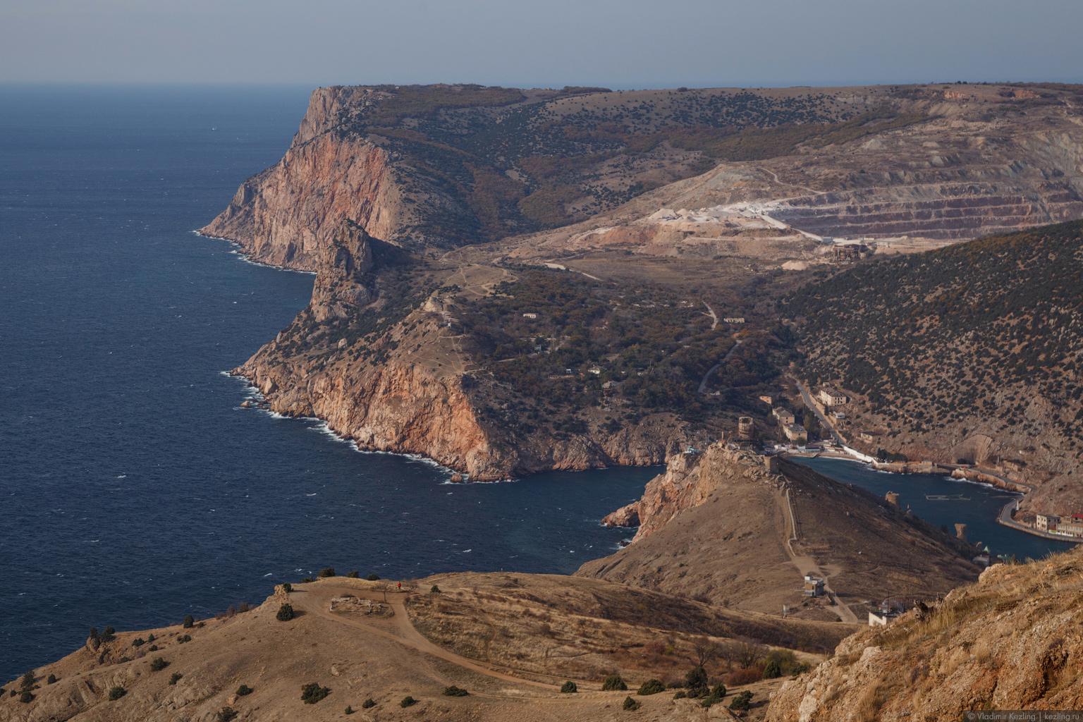 Крым в межсезонье. Балаклава со всех сторон