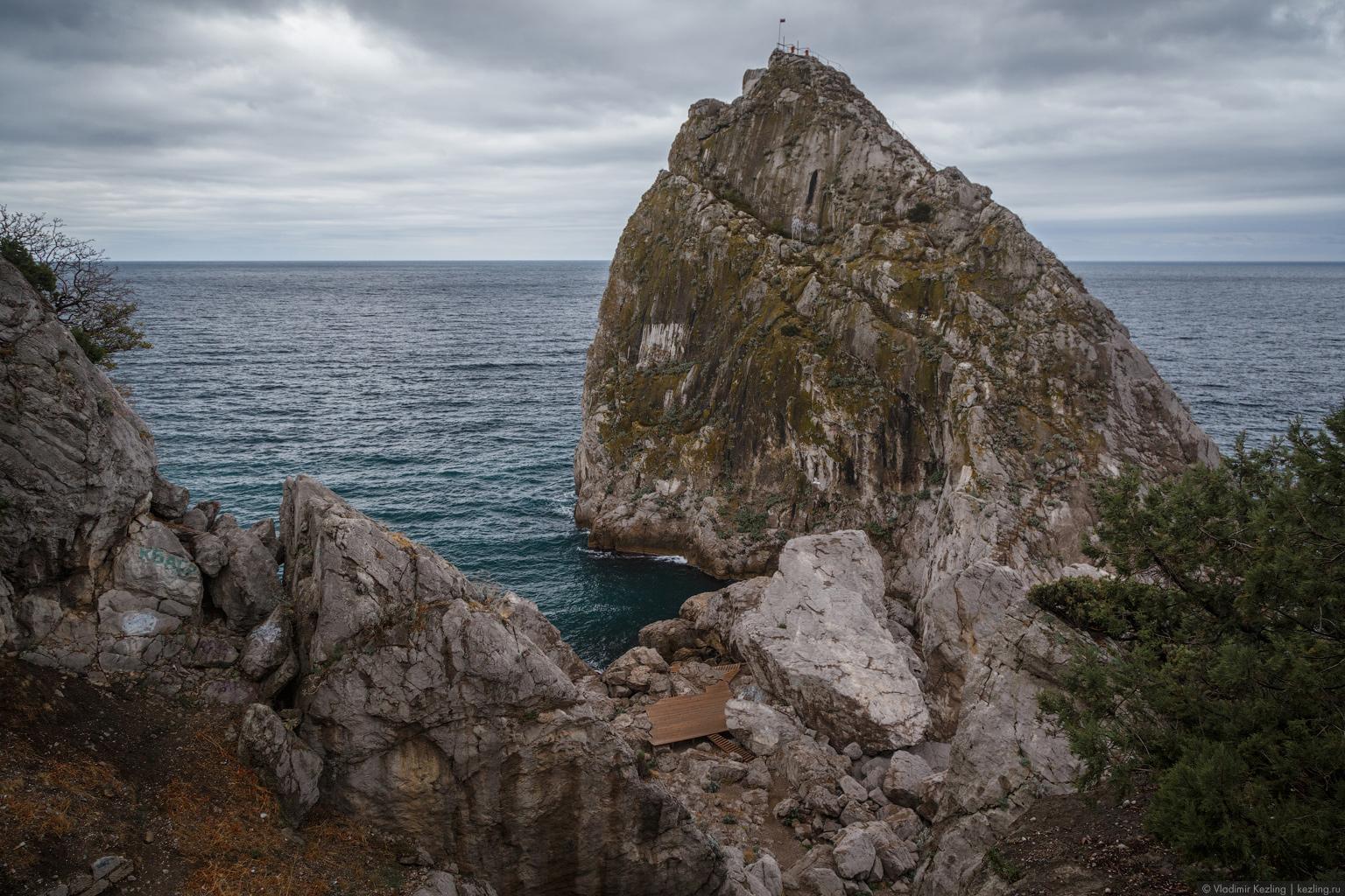 Крым в межсезонье. Кошка, Мышка, Монах, Дива и другие чудеса Симеиза