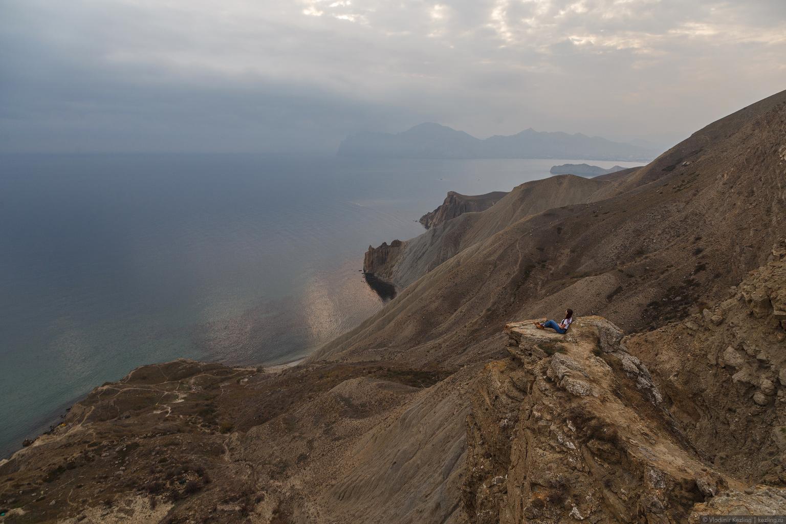 И снова Крым. Прогулка из Коктебеля в Орджоникидзе