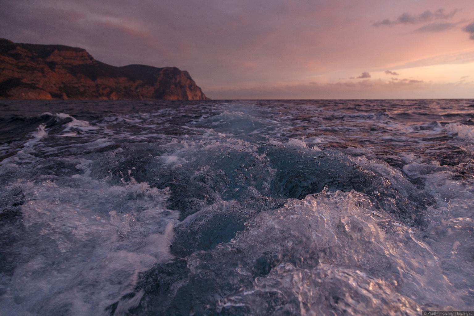 И снова Крым. Морская прогулка на закате из Балаклавы до мыса Айя