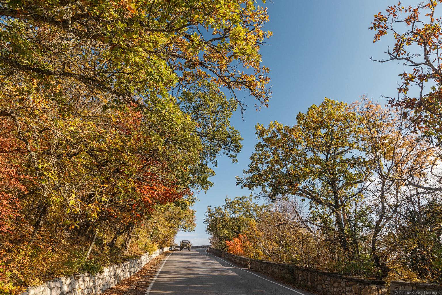 И снова Крым. Старая севастопольская дорога — исторический путь из Севастополя на Южный берег Крыма