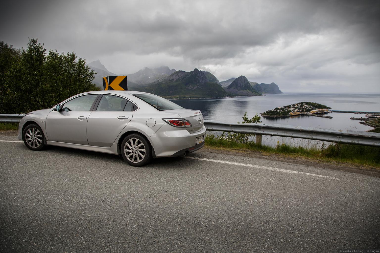Норвежские дорожные зарисовки