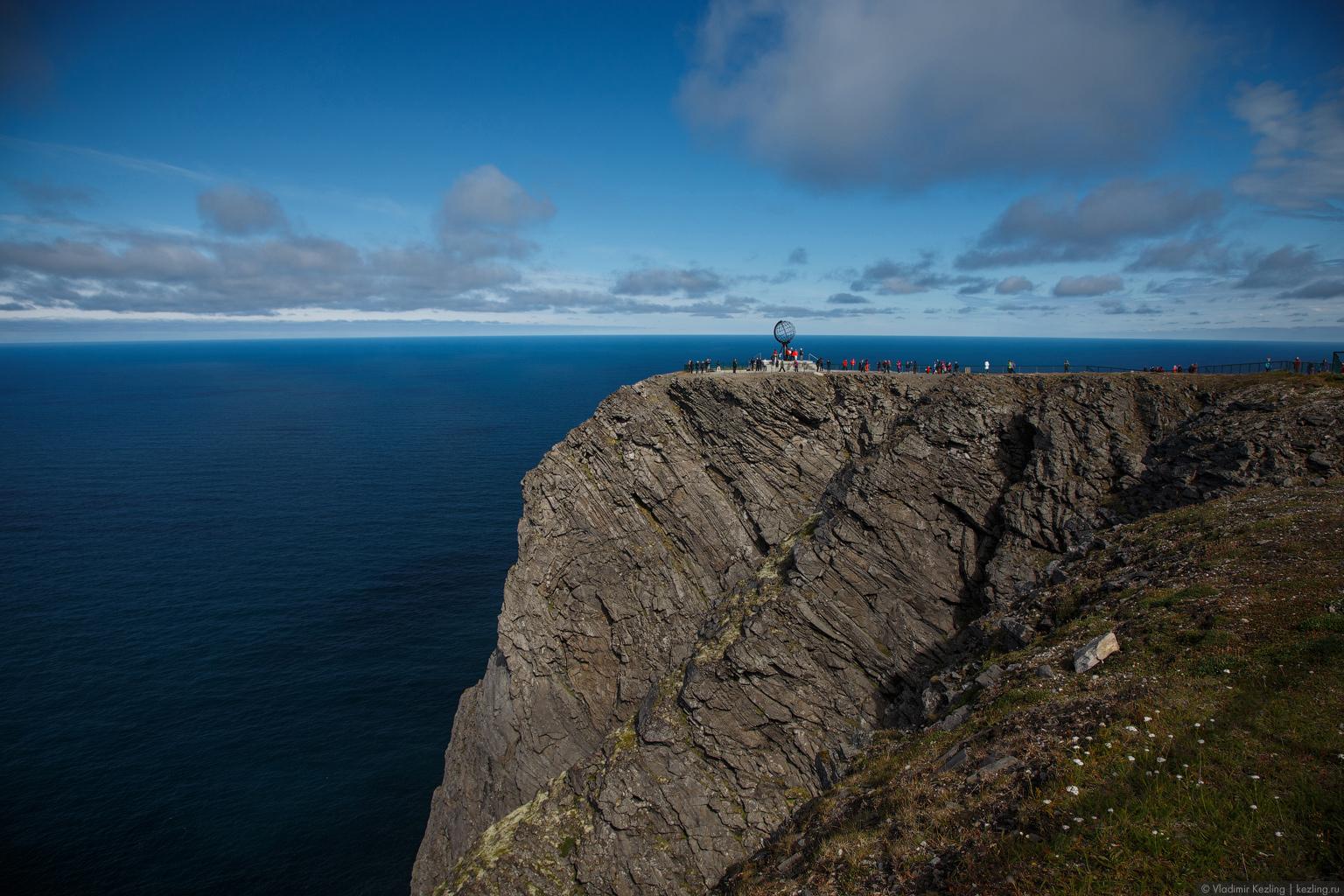 Направление: север. Остров Магерёйа. Мыс Нордкап
