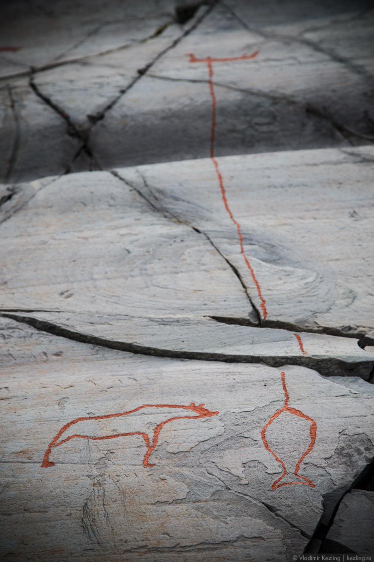 Петроглифы в Алте
