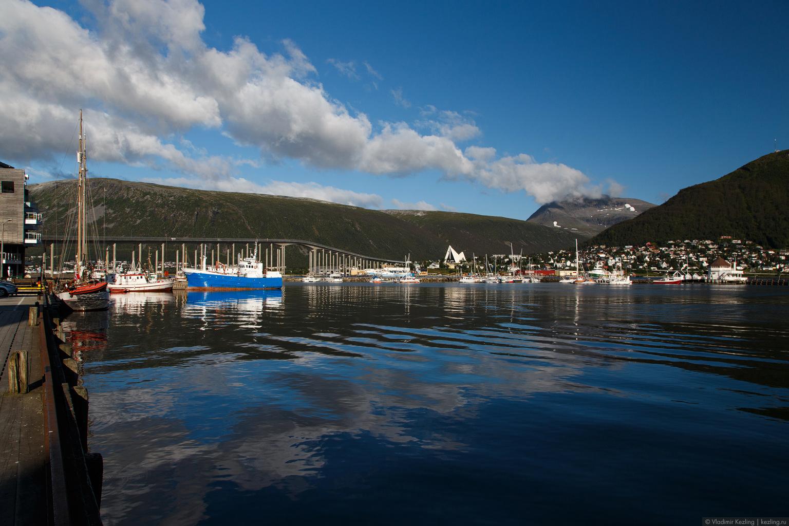 Направление: север. Северная Норвегия. Тромсё