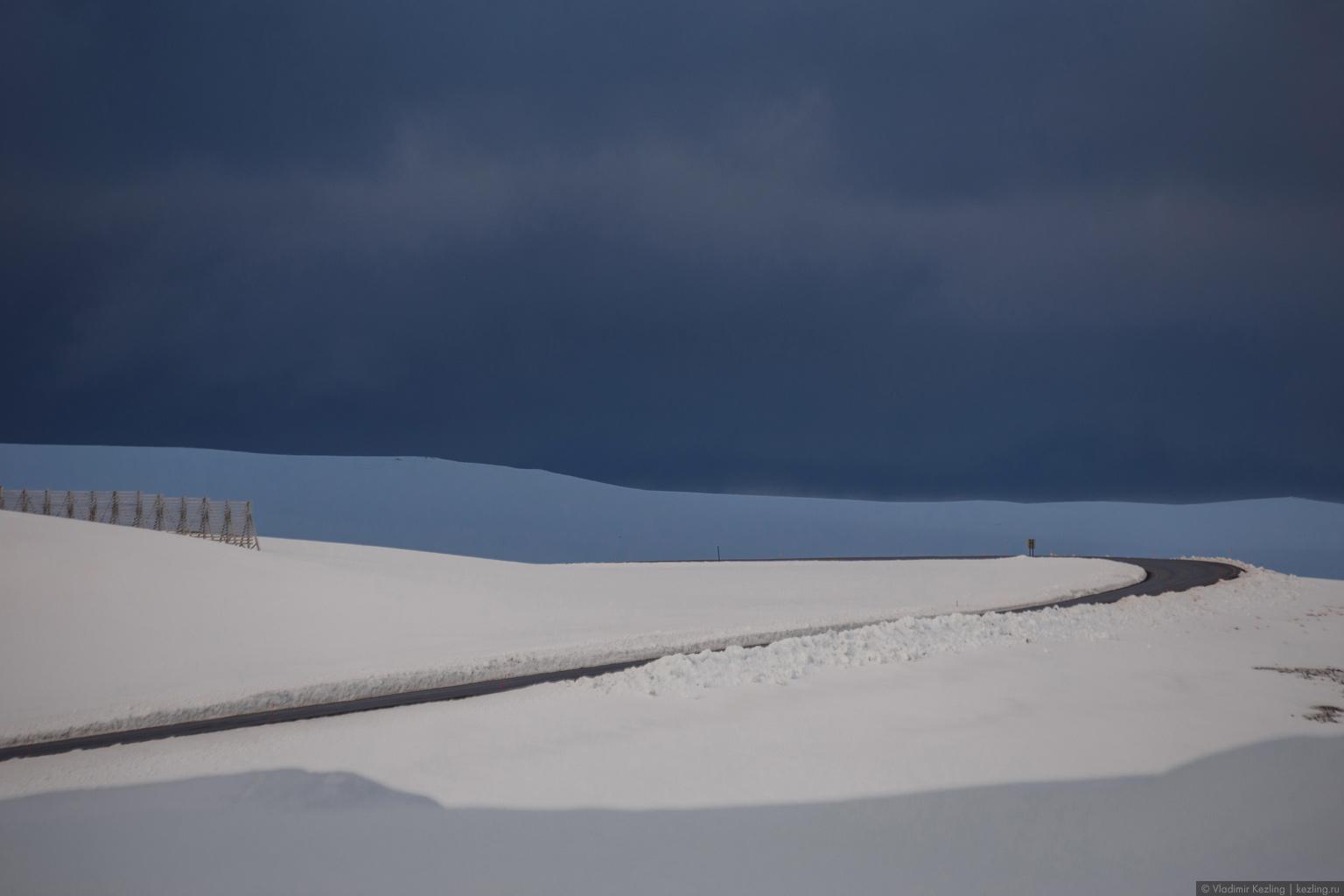 Дорога на мыс Нордкап