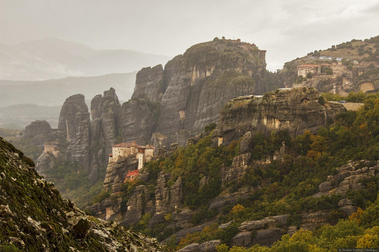 Материковая Греция. Монастыри Метеора