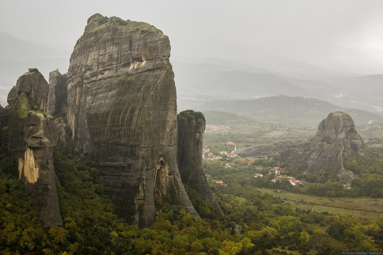 Монастыри Метеора