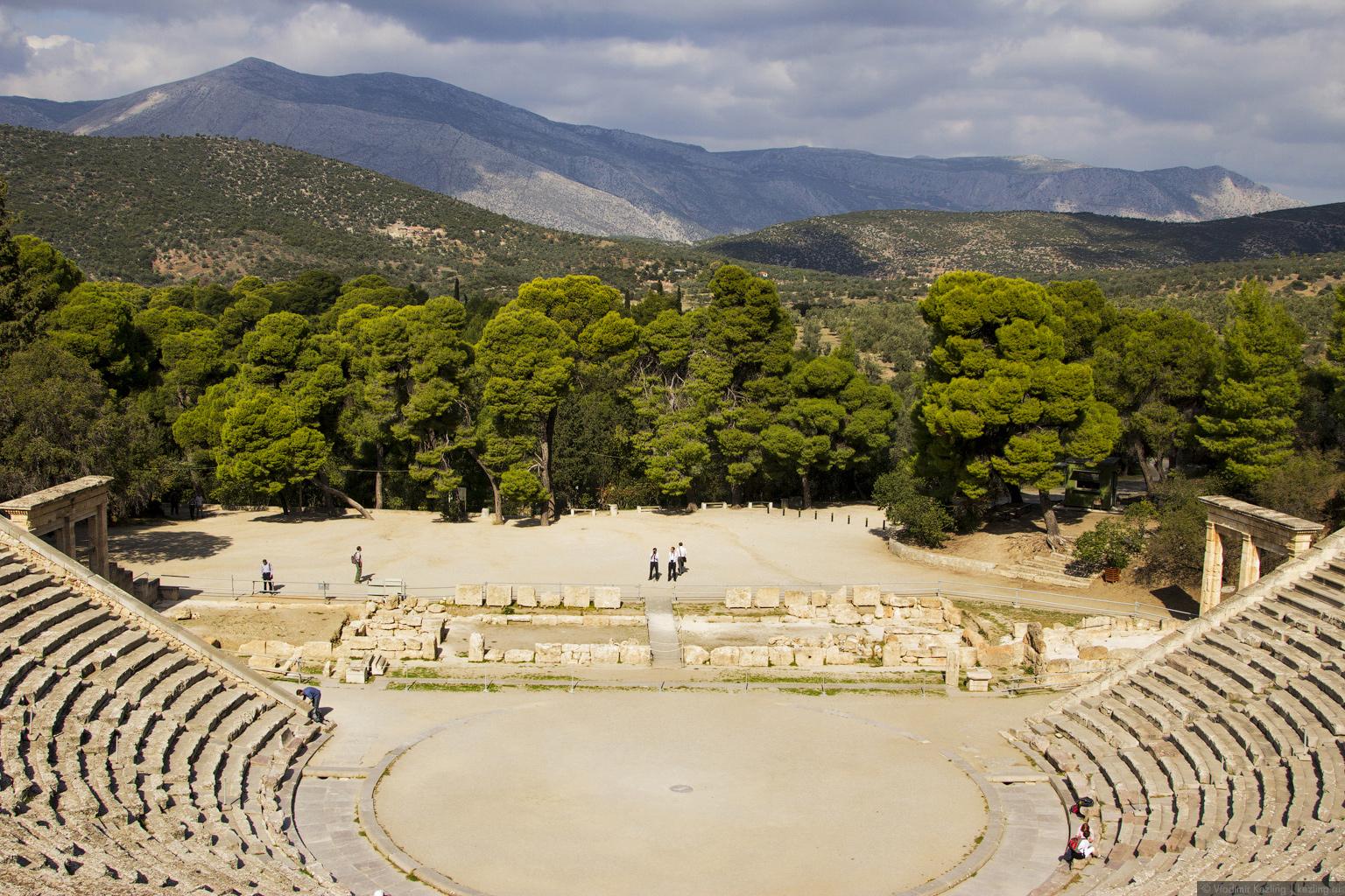 Материковая Греция. В поисках прекрасного. Эпидавр
