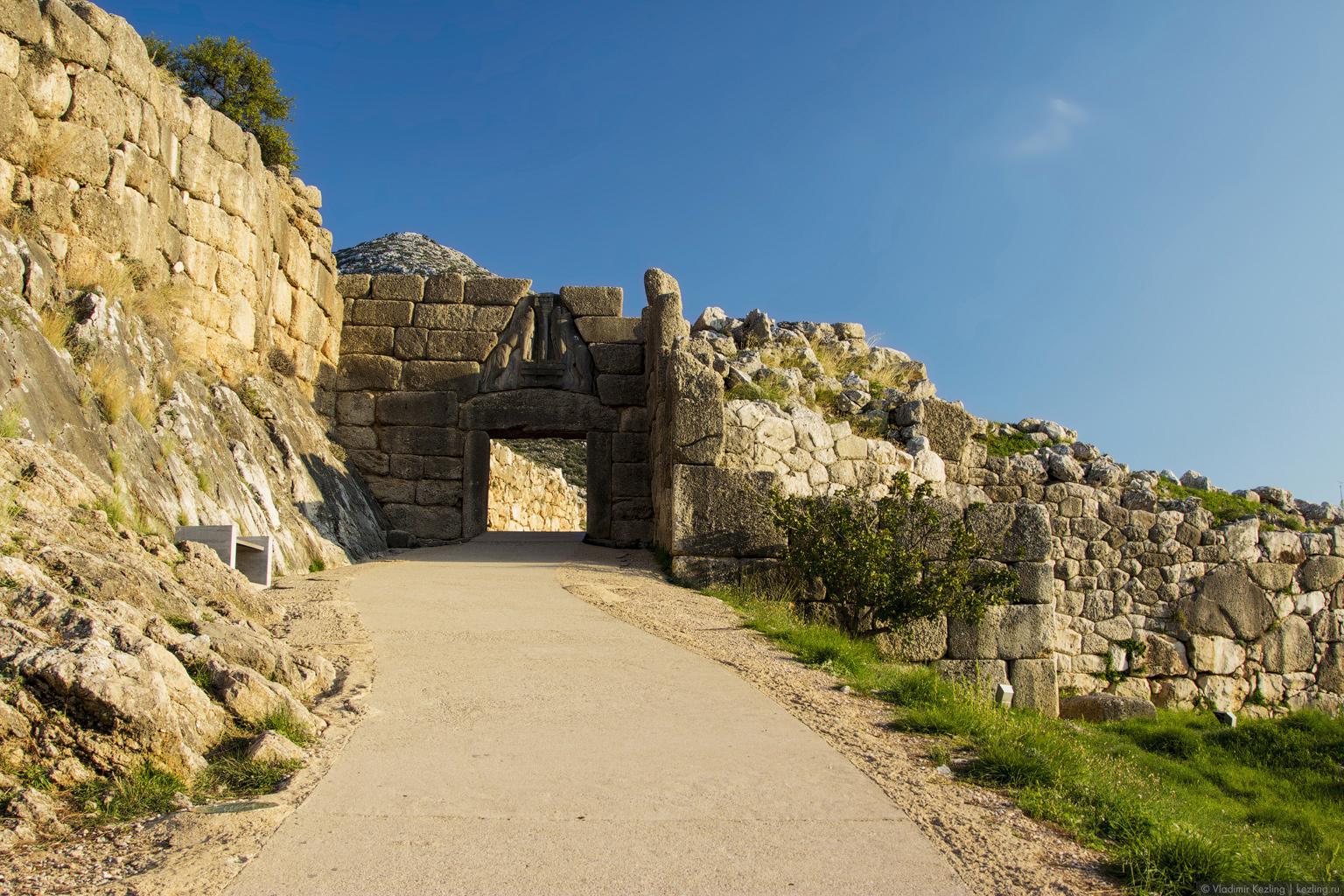 Материковая Греция. В поисках легенд. Микены