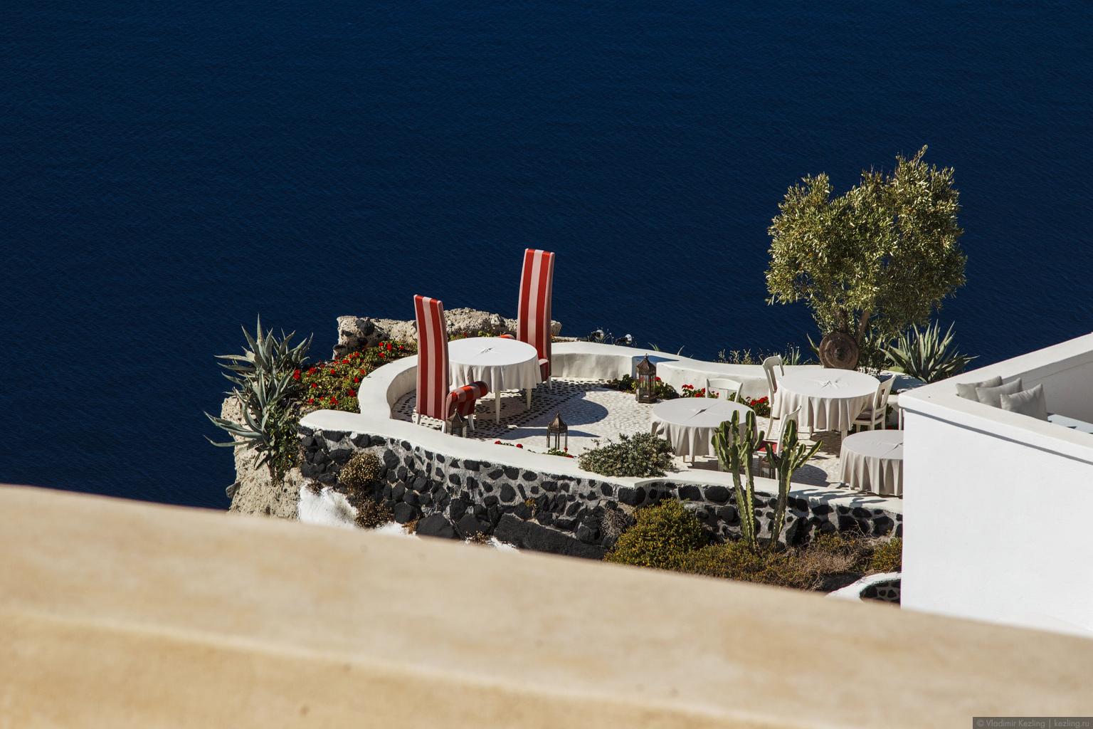 Контрасты греческих островов. Санторини. Сочные картинки из Ии