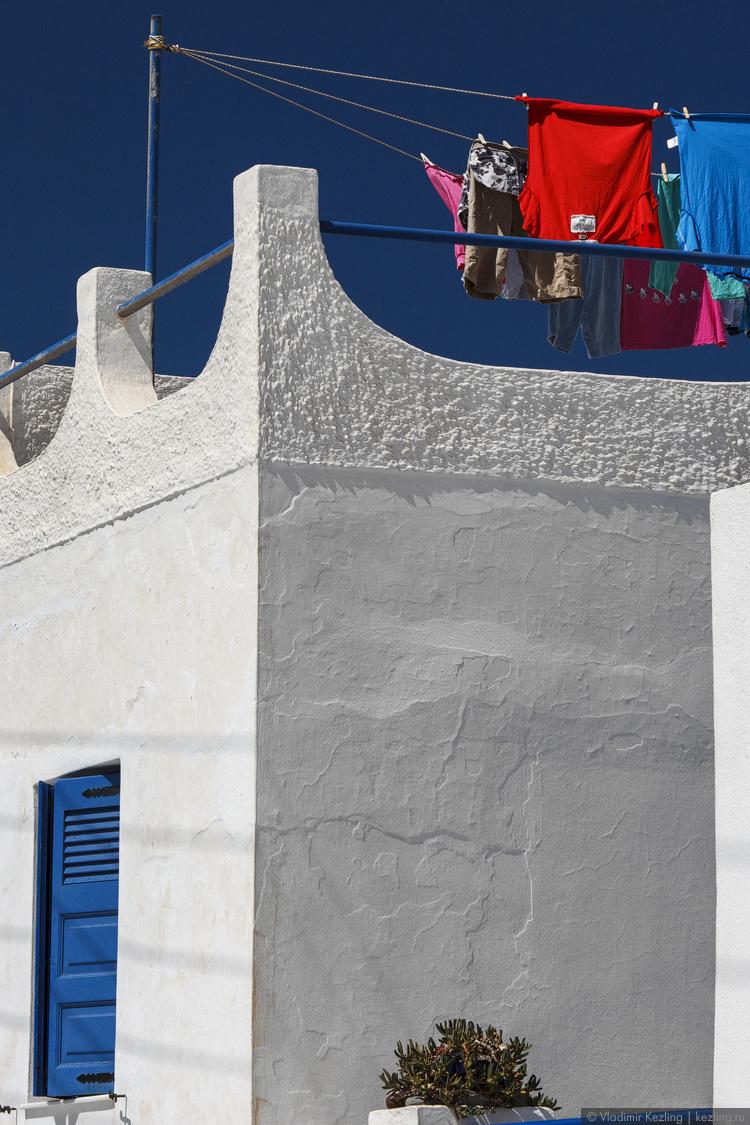 Санторини. Насыщенность послеполуденных красок