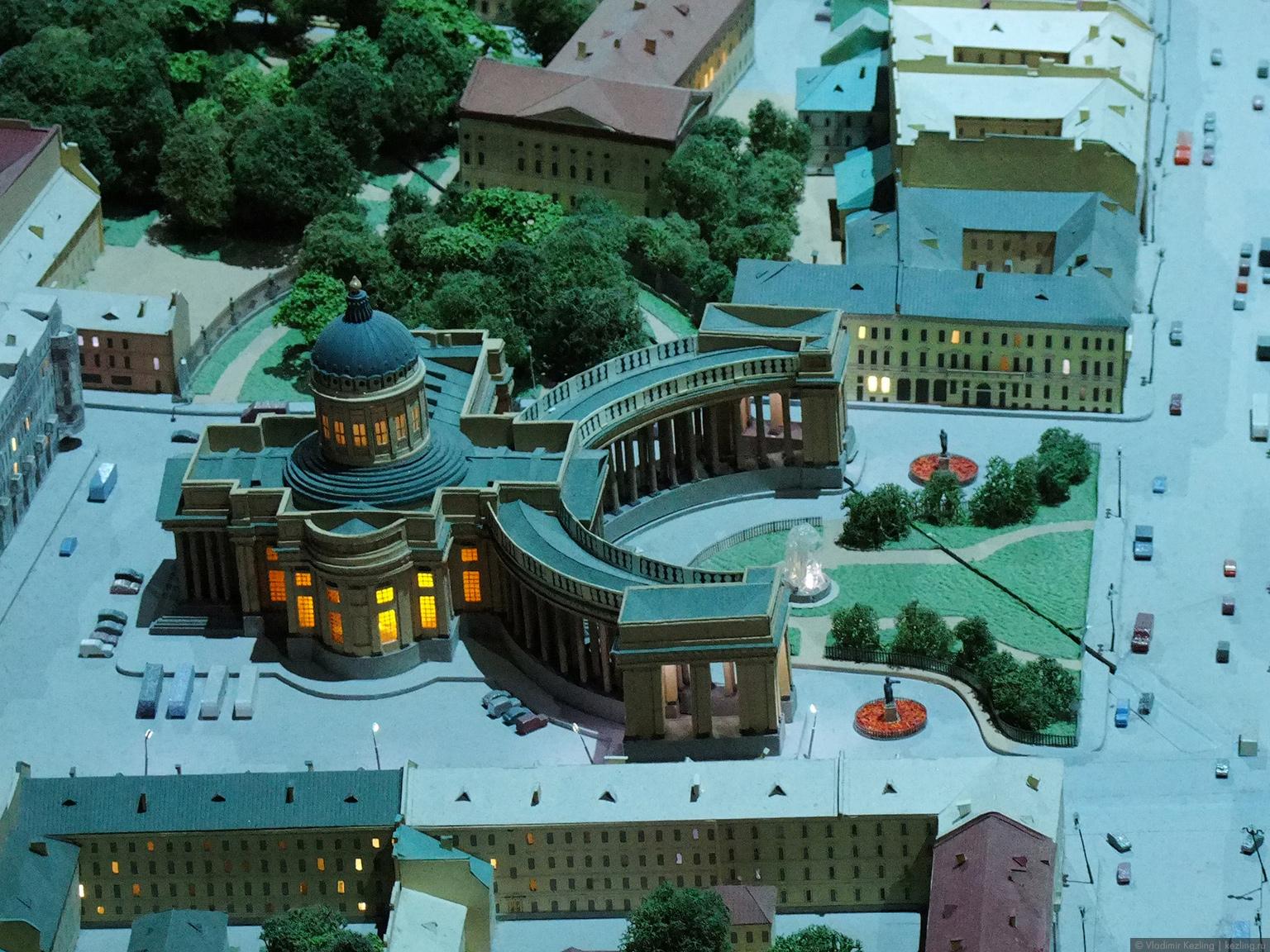 Макет Санкт-Петербурга