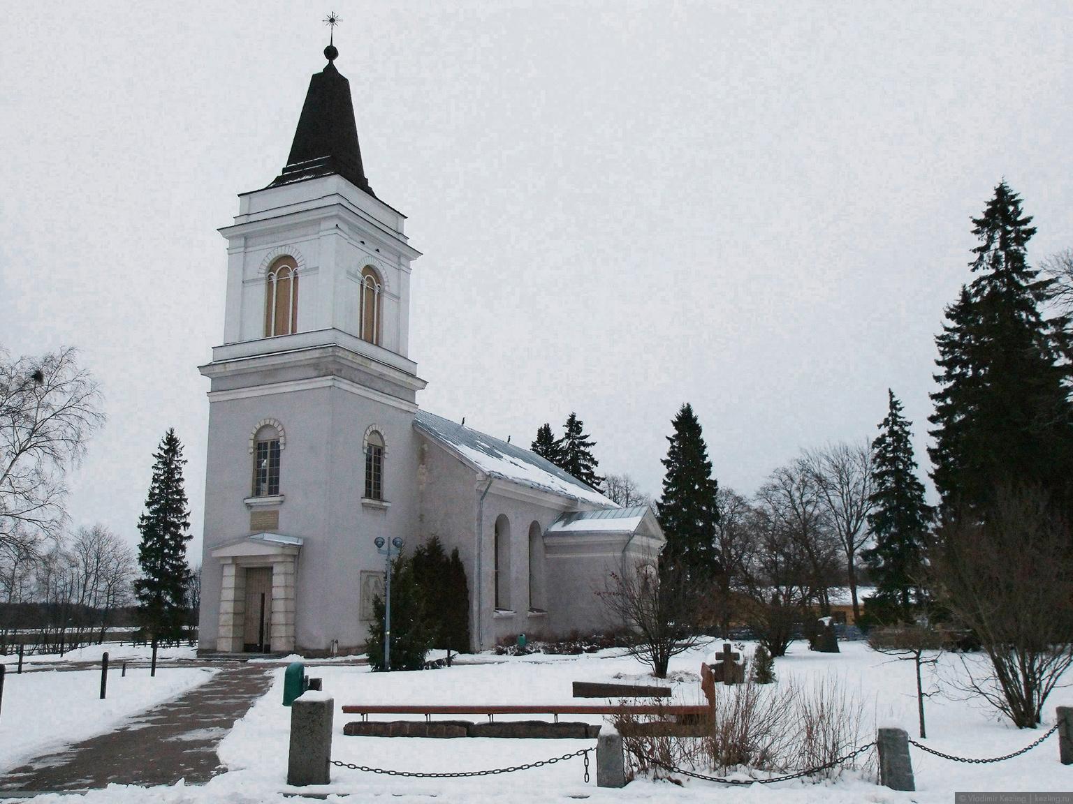 Церковь Вехкалахти