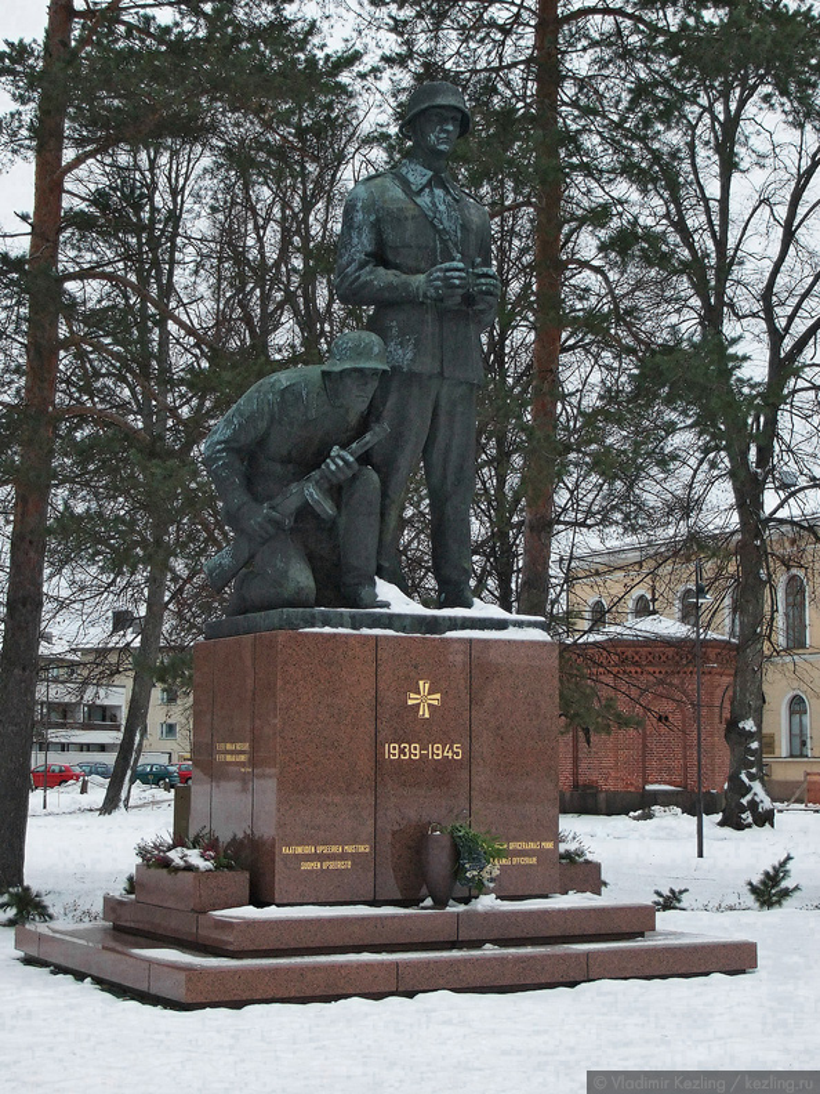 Памятник солдатам Зимней войны