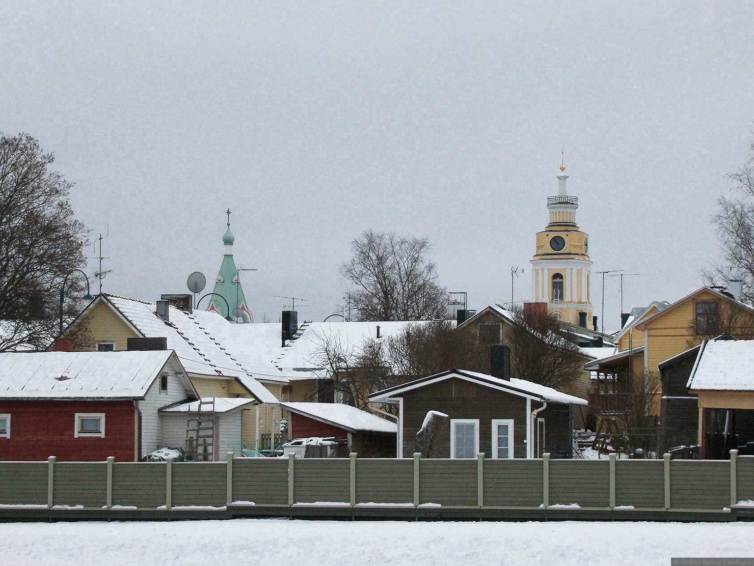 Вид на город с бастиона