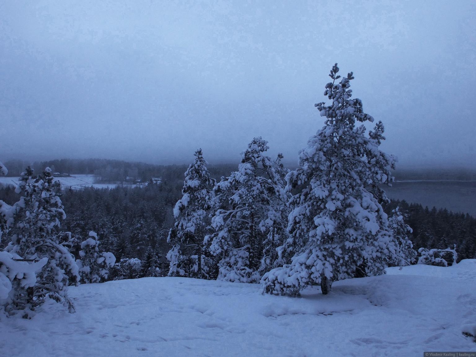 Финские уикенды. Гора Хииденвуори