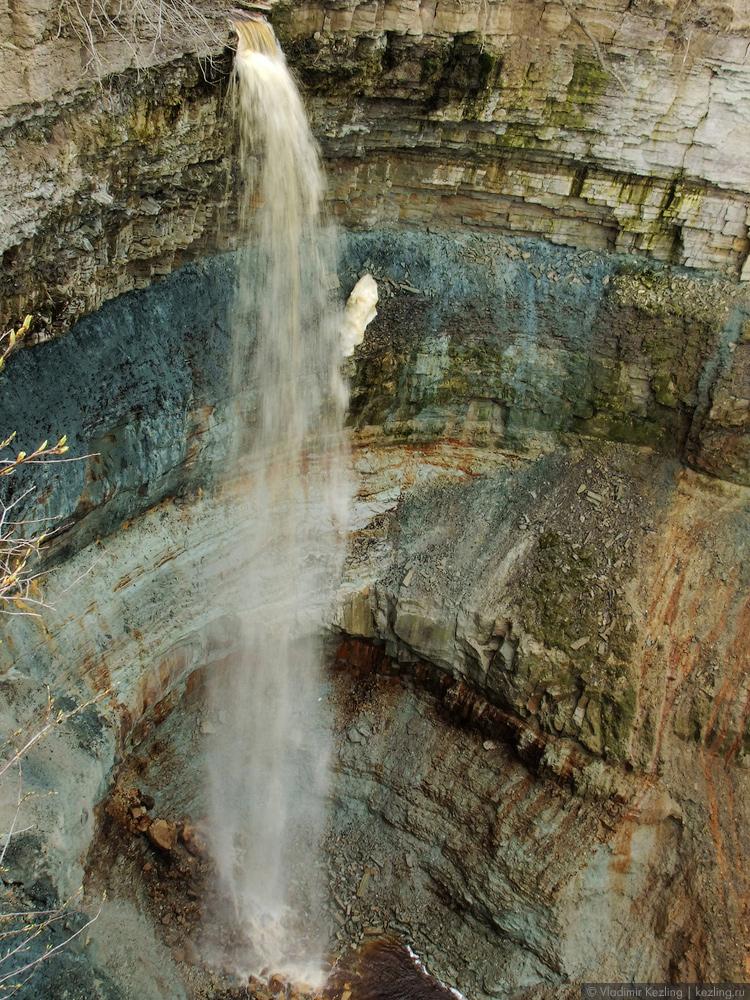 Водопад Валласте