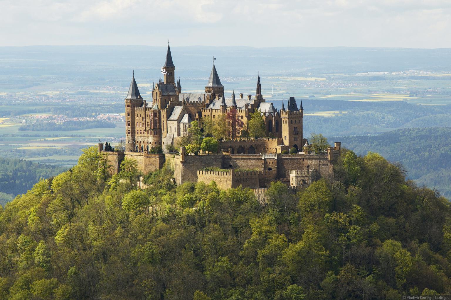 В краю замков и сказок. Гогенцоллерн и Зигмаринген — cказочные замки прусских королей