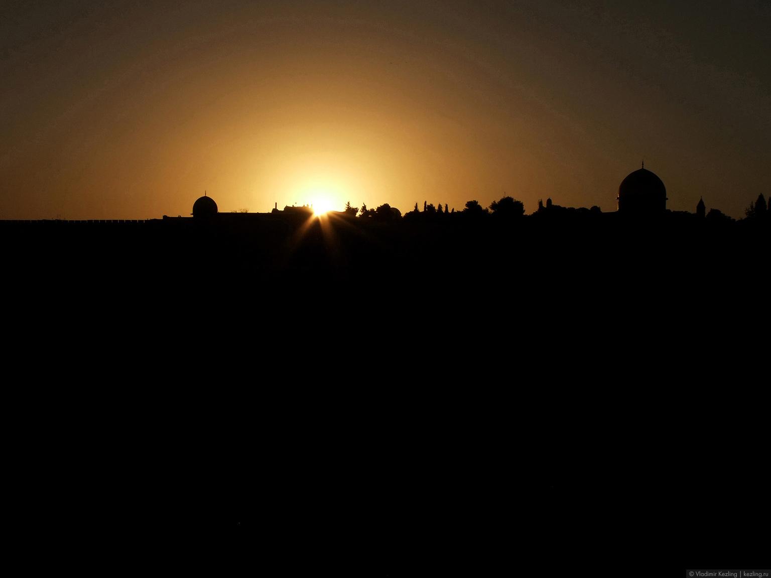 Галопом по Израилю. Пробежка по Иерусалиму