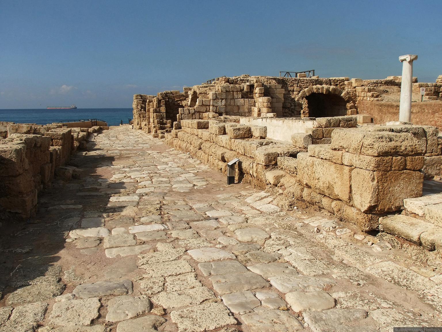 Галопом по Израилю. Кесария