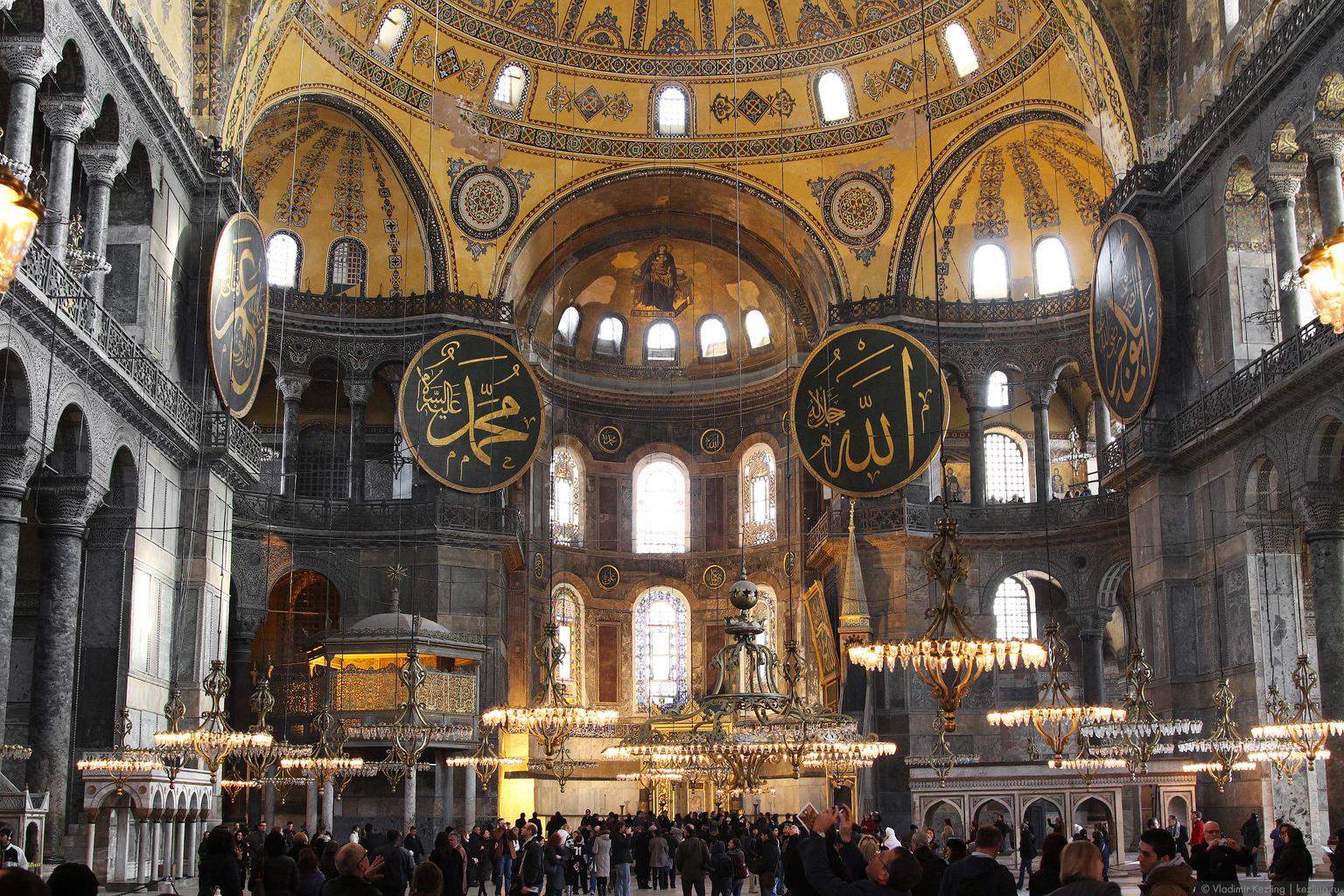 Стамбул религиозный: Айя-София и Голубая мечеть